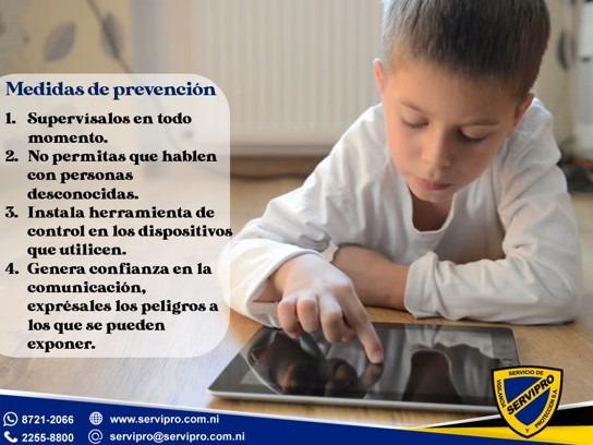Protege a tus hijos de los riesgos del internet
