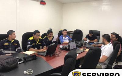 Gestión de conocimiento al personal técnico departamento seguridad electrónica