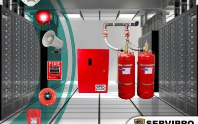 Protege tus bienes, reduce las pérdidas con sistema de supresión incendio a través de agente limpio