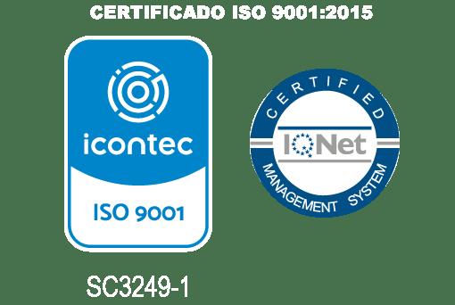 Logo certificación ISO 9001