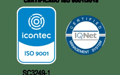 Auditoría del ICONTEC ratifica renovación al certificado de calidad ISO 9001